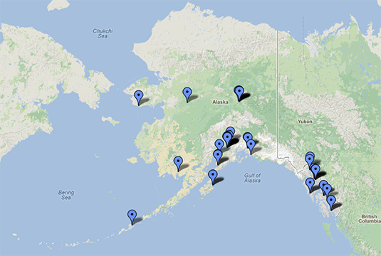 Mapping the Media in Alaska
