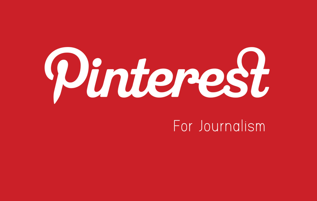 Pinterest for Journalism-red